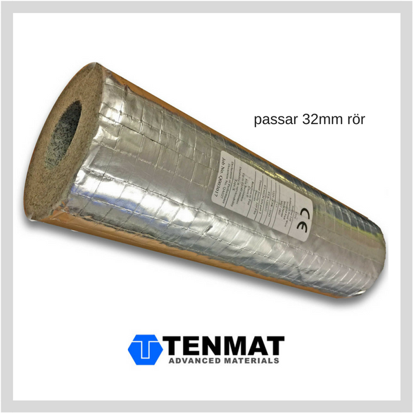 Fräscha TENMAT Brandhylsa - för 32mm rör - Flameguard PT-49