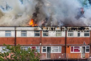 Boverkets byggregler - krav på brandskydd.