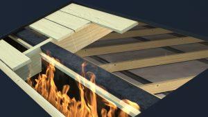 Tenmat brandstop - sväller vid brand