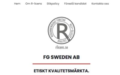 Flameguard är kvalificerad till R-Licens!