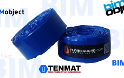 BIM-objekt – TENMAT Ventilerade Brandstopp