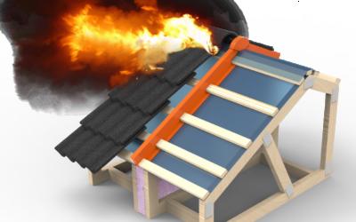 NYHET – Tenmat RTF, brandstopp för takpannor och taknock